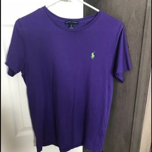 🎀 Ralph Lauren Top in Purple 🎀
